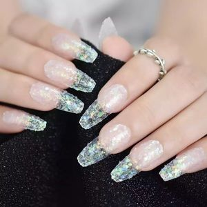 Acrylic press on nails 24 pieces